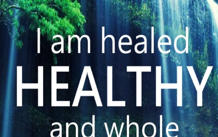 affirmations for healing